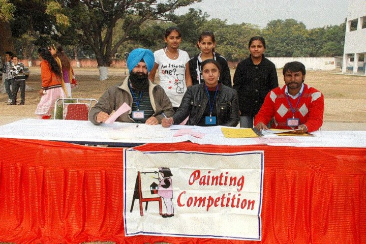 Guru Nanak Khalsa Senior Secondary School- Paint  Competition