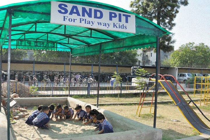 Guru Nanak Khalsa Senior Secondary School-Sand Pit