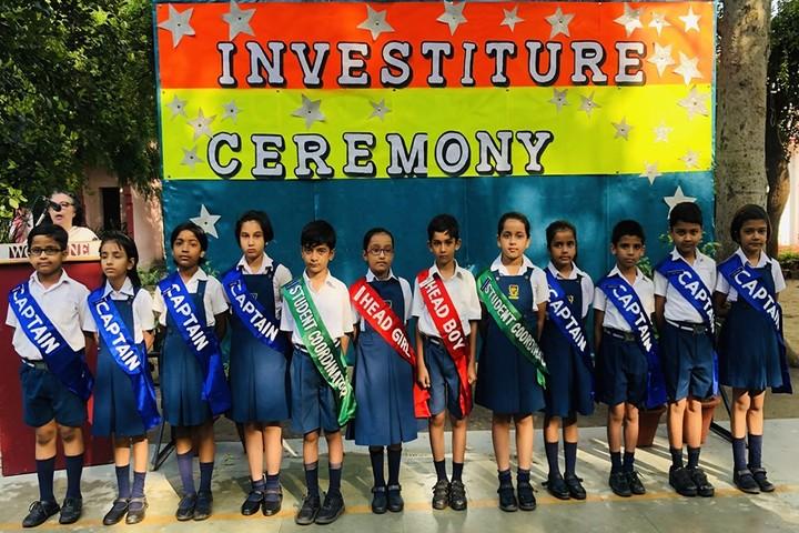 Woodbine Gardenia School-Investiture Ceremony