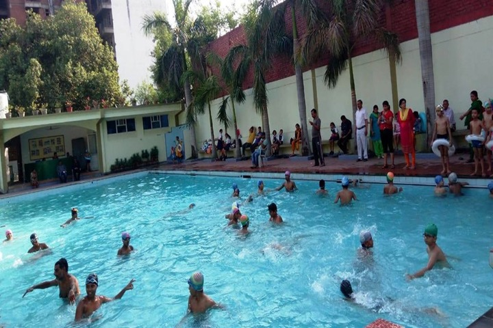 Woodbine Gardenia School-Swimming Pool