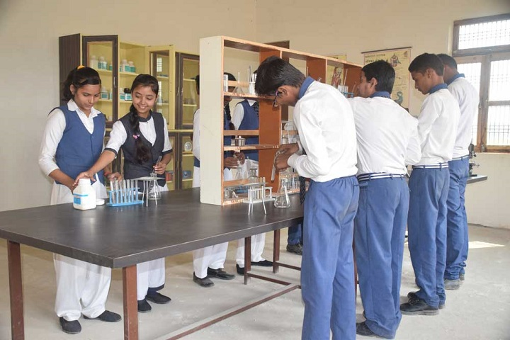 Y M Convent School-Chemistry labs