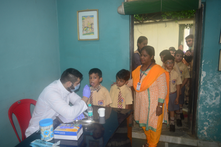 Ymca Centenary School-Dental Camp