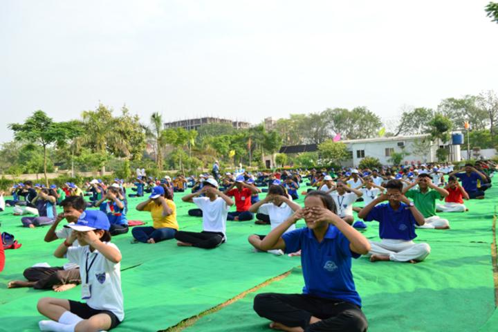 Ymca Centenary School-Yoga Day