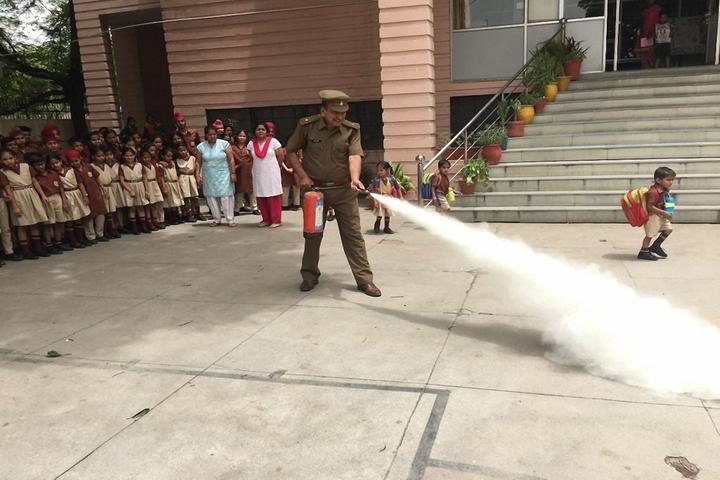 Guru Teg Bahadur Public School-Fire Drill Activity
