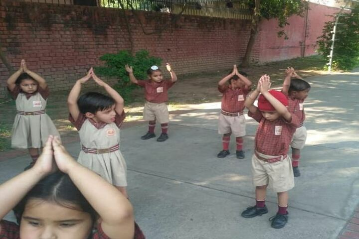 Guru Teg Bahadur Public School-Morning Activity