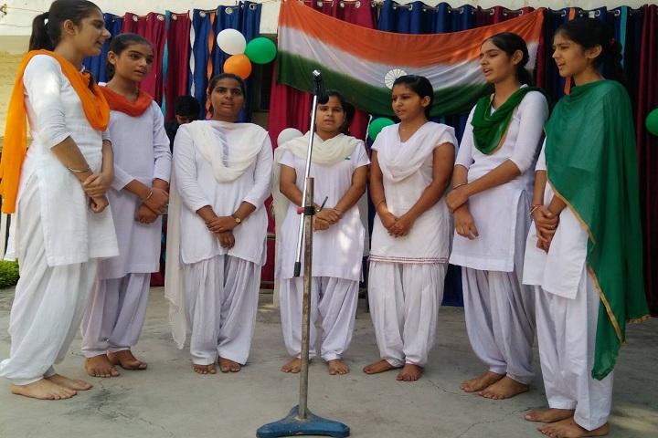 Guru Teg Bahadur Public School- Independence Day