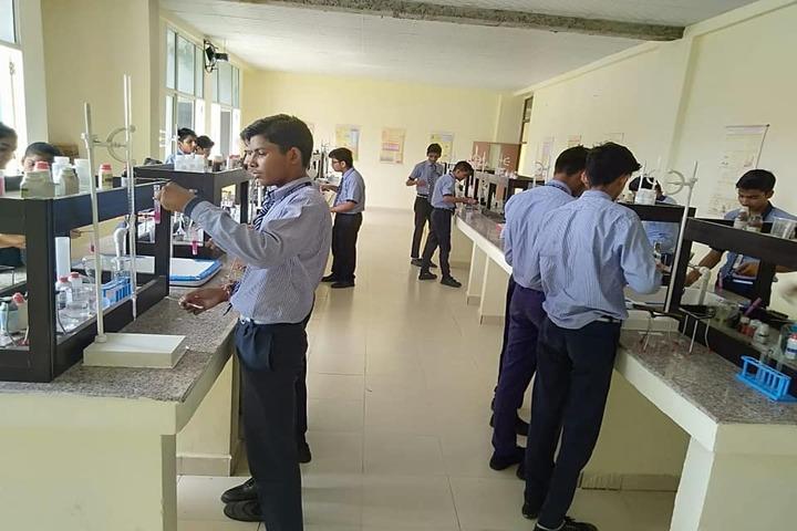 Zennext Public School-Chemistry Lab