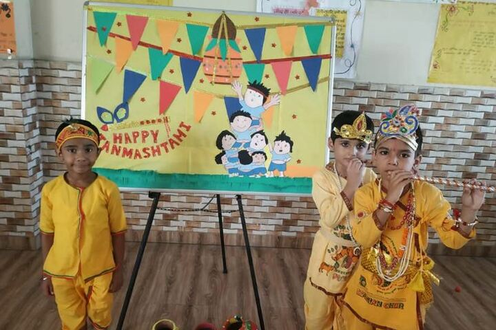 Zennext Public School-Janmastami Celebration