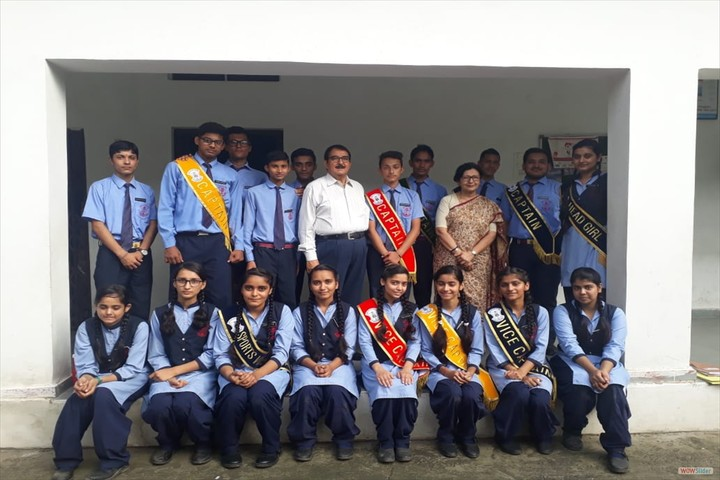 A B M Public School-Investiture Ceremony