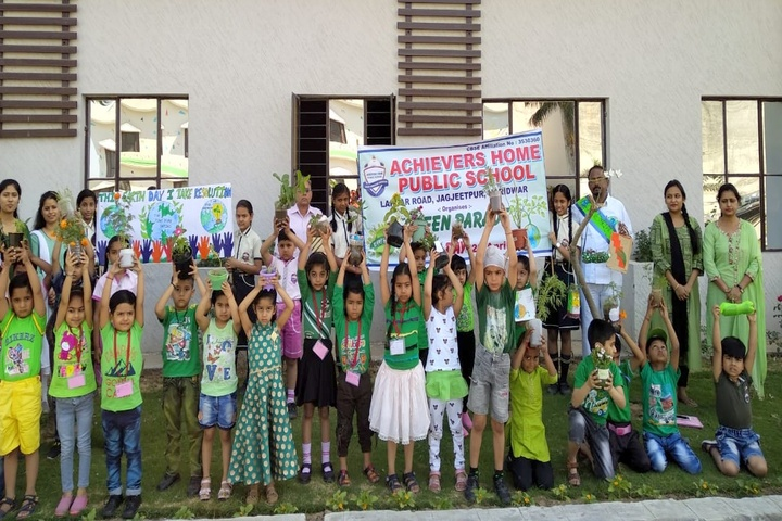 Achivers Home Public School-Earth Day