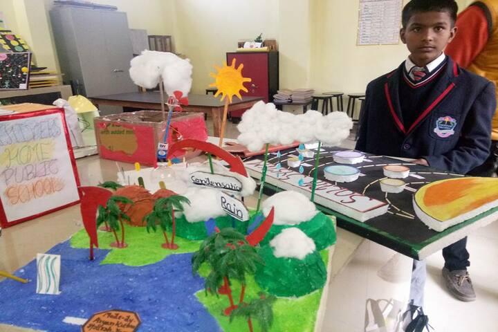 Achivers Home Public School-Science Exhibition