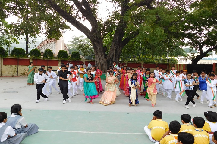 Adarsh Bal Nikethan Senior Secondary School-Dance Performance