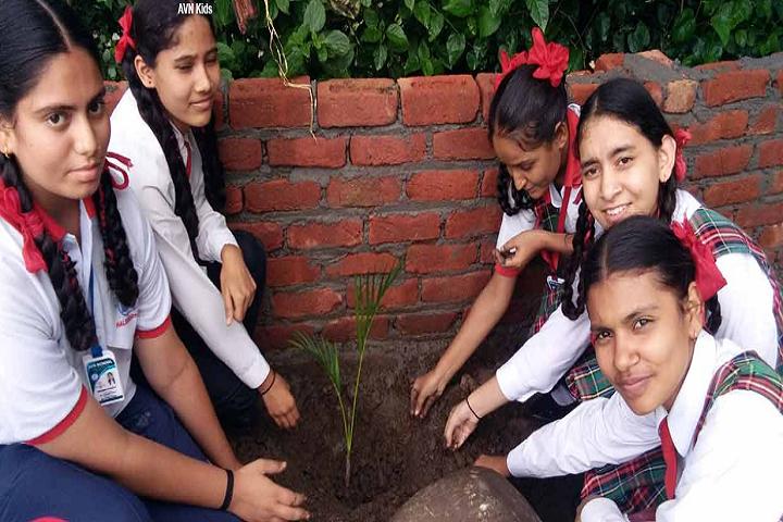 Adarsh Vidya Niketan-Tree Plantation