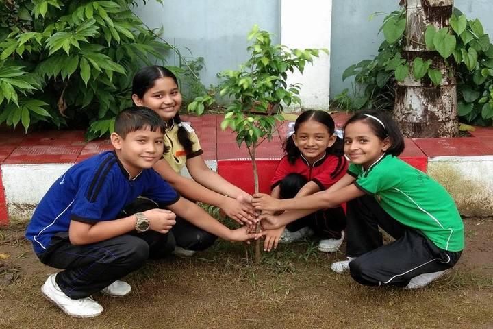Alakashya Public School-Environment Day Celebrations