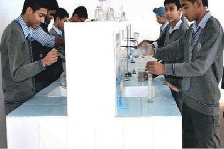 Gyandeep Model High School-Chemistry Lab