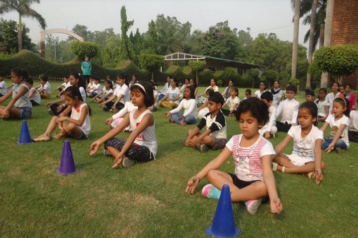 Amenity Public School-Yoga