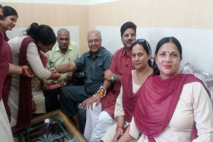 Anand Swaroop Arya Sarawasti Vidya Mandir-Rakhi Celebrations