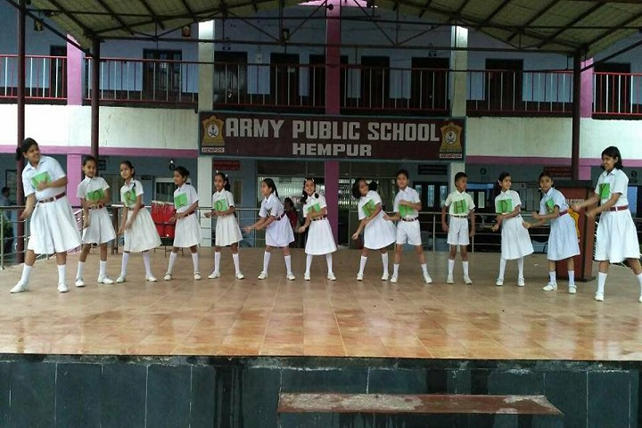 Army Public School-Dance Performance