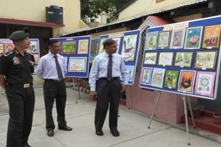 Army Public School-Inspection