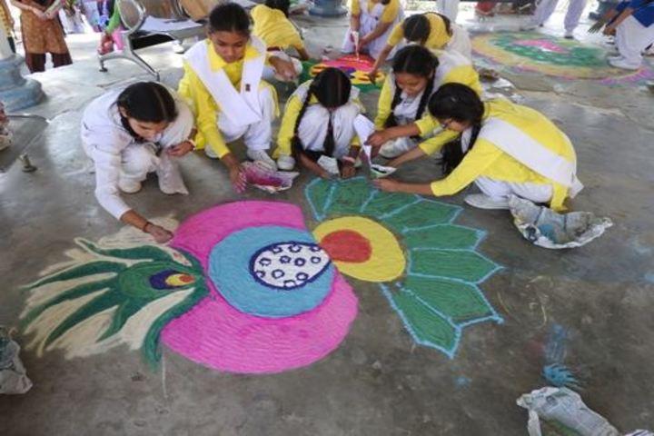 Army Public School-Rangoli