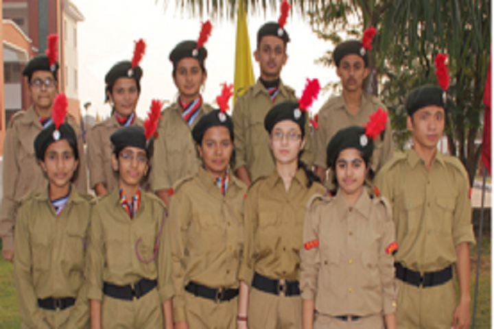 Aryaman Vikram Birla Institute Of Learning-NCC Batch
