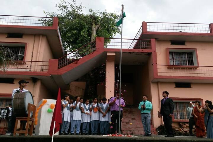 Bdm School-Flag Hoisting