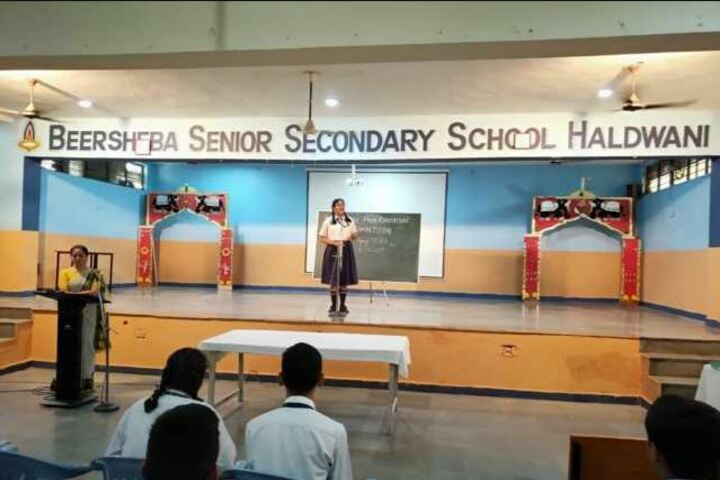 Beersheba Senior Secondary School-Speech Competition