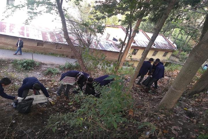 Beersheba School-Clean India Campaign
