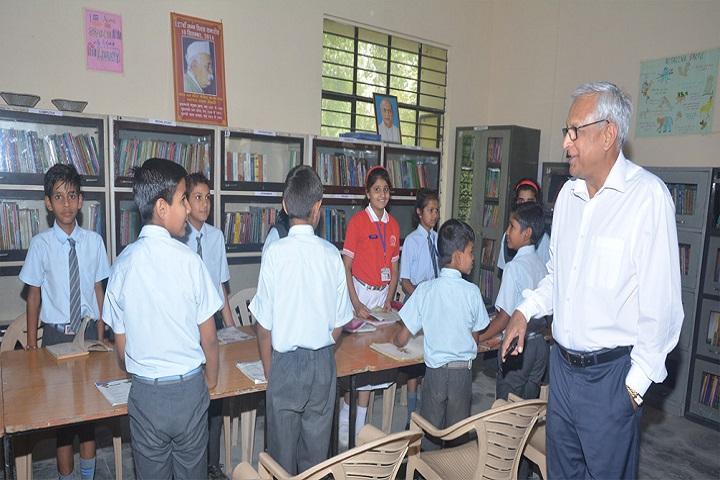Bharatiya Academy-Library