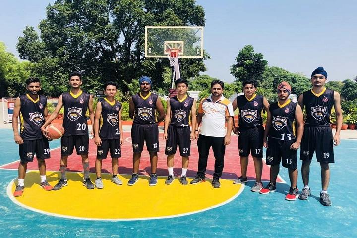 Bhartiyam International School-Basket Ball Ground