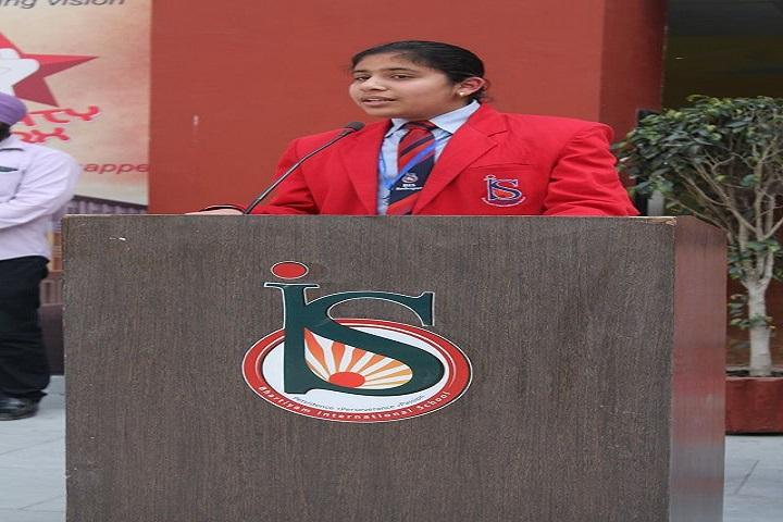 Bhartiyam International School-Student Speech