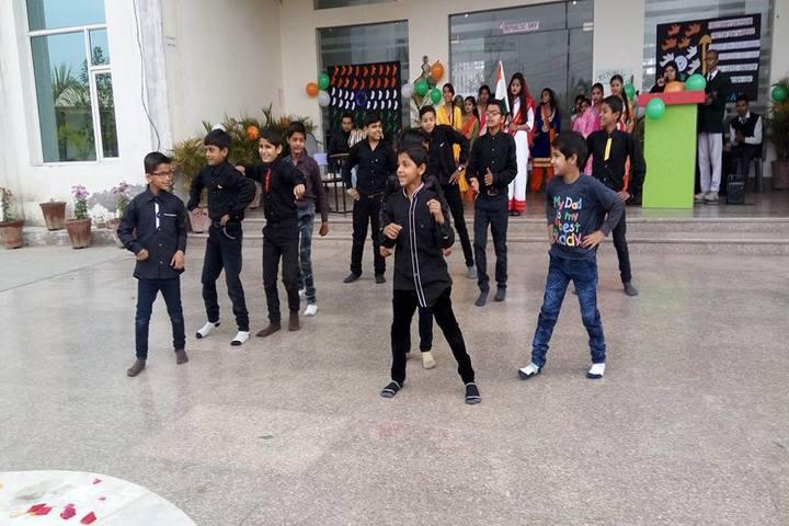Braj International Public School-Dance Activity