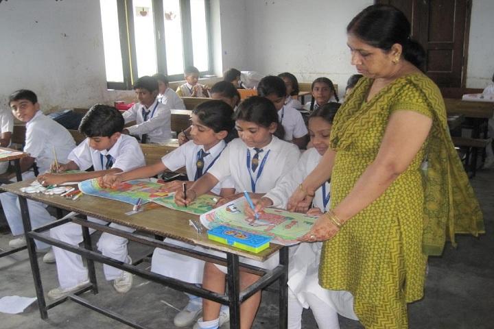 Chandra Shaikhar Senior Secondary Public School-Classroom