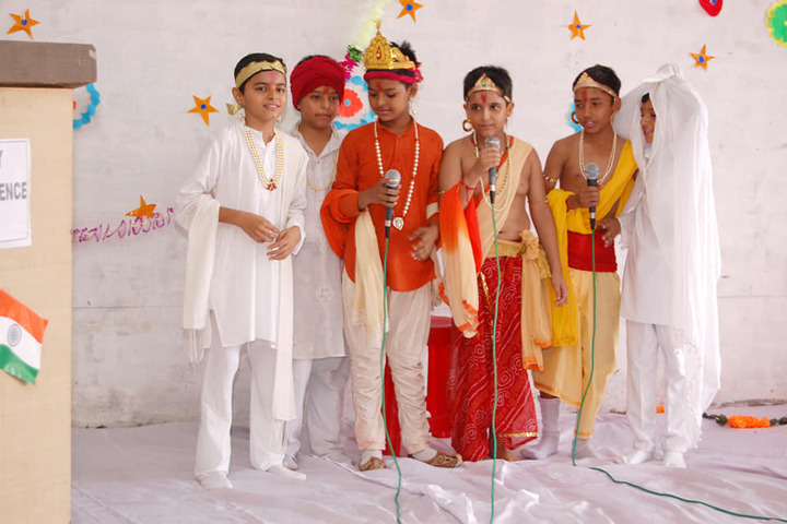 Charat Niketan Vishwa Bharti Public School-Festival Celebration