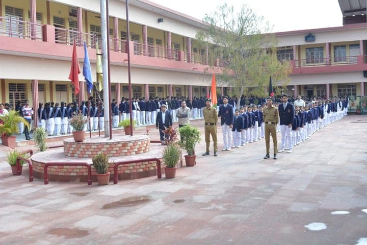 Charat Niketan Vishwa Bharti Public School-Independence Day