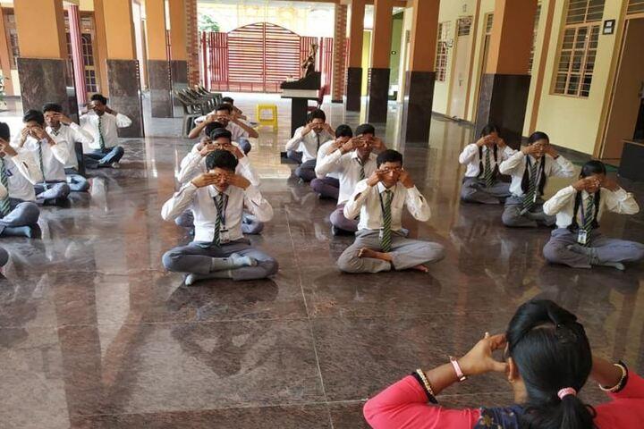 Charat Niketan Vishwa Bharti Public School-Meditation