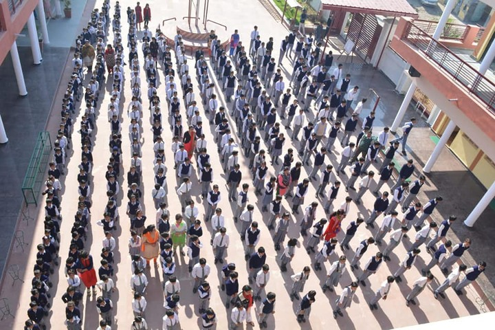 Charat Niketan Vishwa Bharti Public School-Morning Assembly