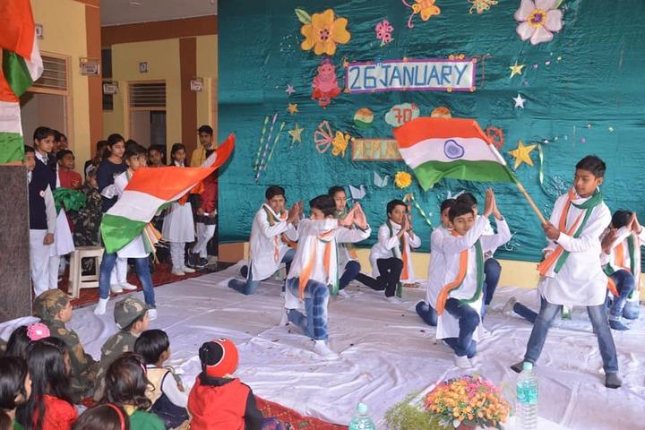 Charat Niketan Vishwa Bharti Public School-Republic Day Celebration