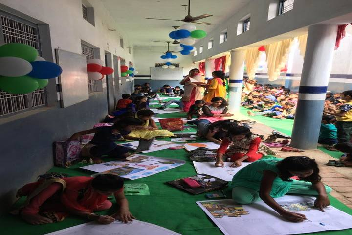 City Convent School-Drawing Competition
