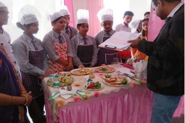 City Convent School-Food Making Compitition