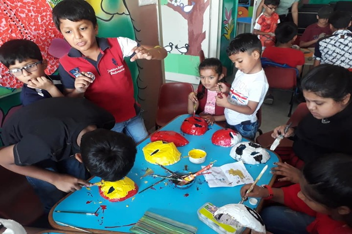 Confluence World School-Art and Craft