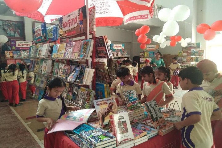 Confluence World School-Book Stall At School