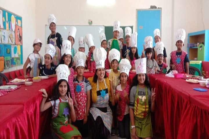 Confluence World School-Salad Making Competition
