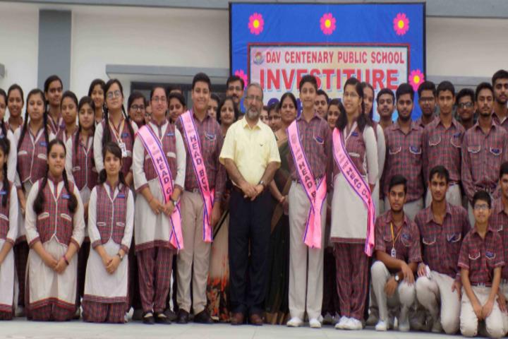 DAV Centenary Public School-Investiture Ceremony