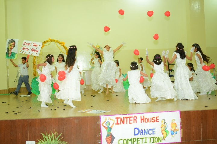 D S B International Public School-Dance Competition