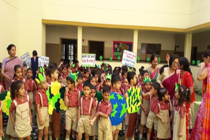 D S B International Public School-Earth Day Celebrations