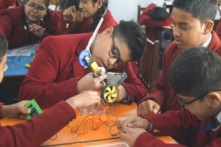 D S B International Public School-Science Project