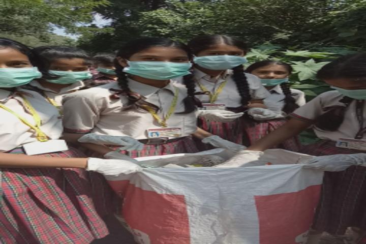 DAV Centenary Public School-Swacch Bharat Abhiyan