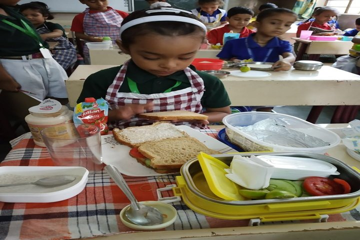 DAV Public School-Salad Making Competition
