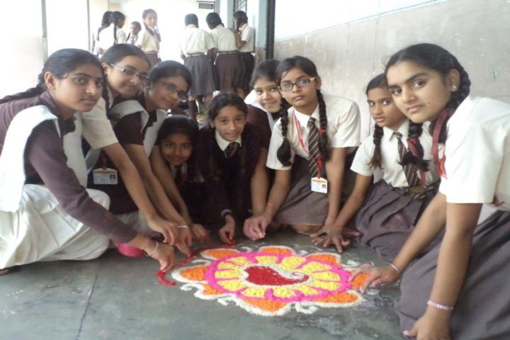 DAV Public School-Rangoli Competition